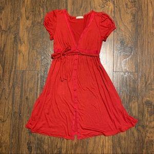 ⭐️ Vintage Forever21 Red Dress